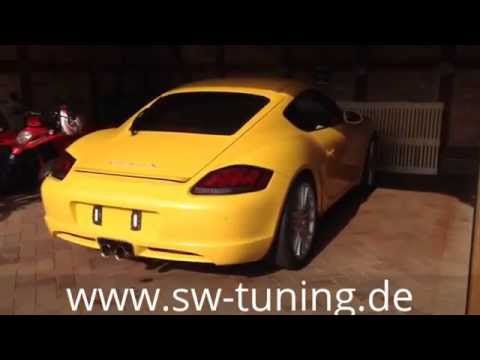 SWExhaust Sportauspuff sport exhaust for Boxster/Cayman 987 SW-Tuning