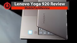 Lenovo Yoga 920 Review