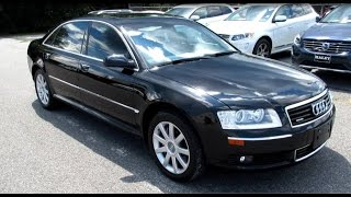 2005 Audi A8L Walkaround, Start up, Full tour and Overview