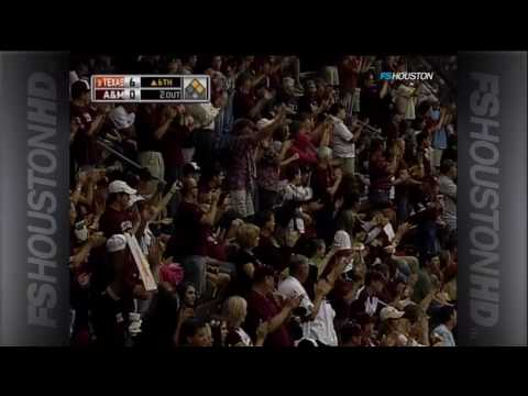 Texas A&M Baseball - Joaquin Hinojosa Catch
