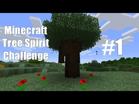 Modded Minecraft: A Simple Life Tree Spirit Challenge