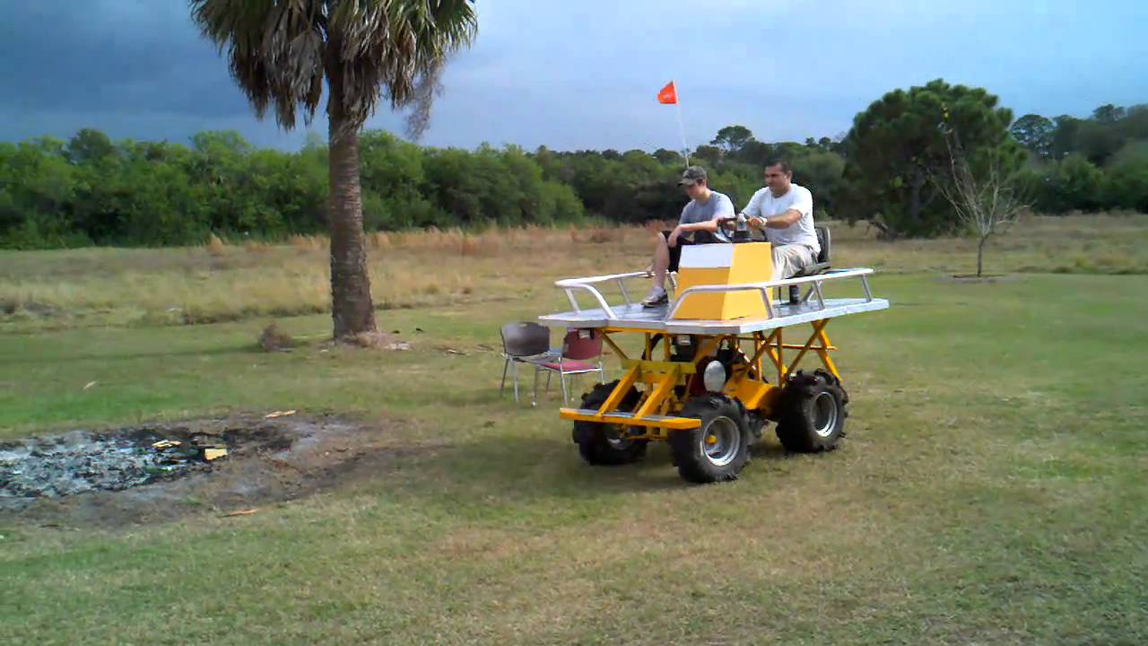 Mini swamp buggy wheelie - YouTube