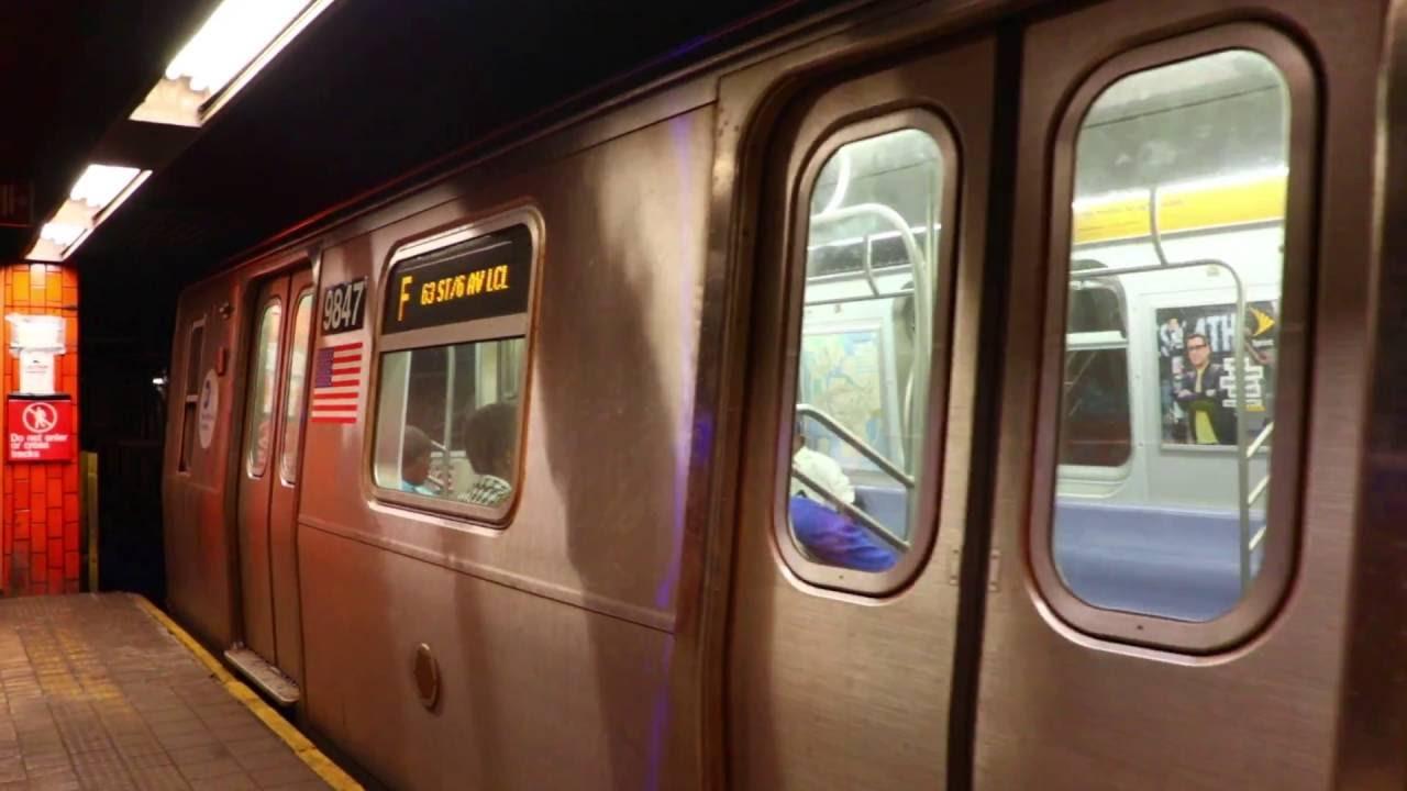 MTA New York City Subway : Coney Island Bound R160A/R160B ...