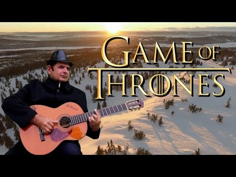 Game of Thrones Theme on Fingerstyle Guitar  Game of Thrones on Acoustic Guitar - Júlio Hatchwell
