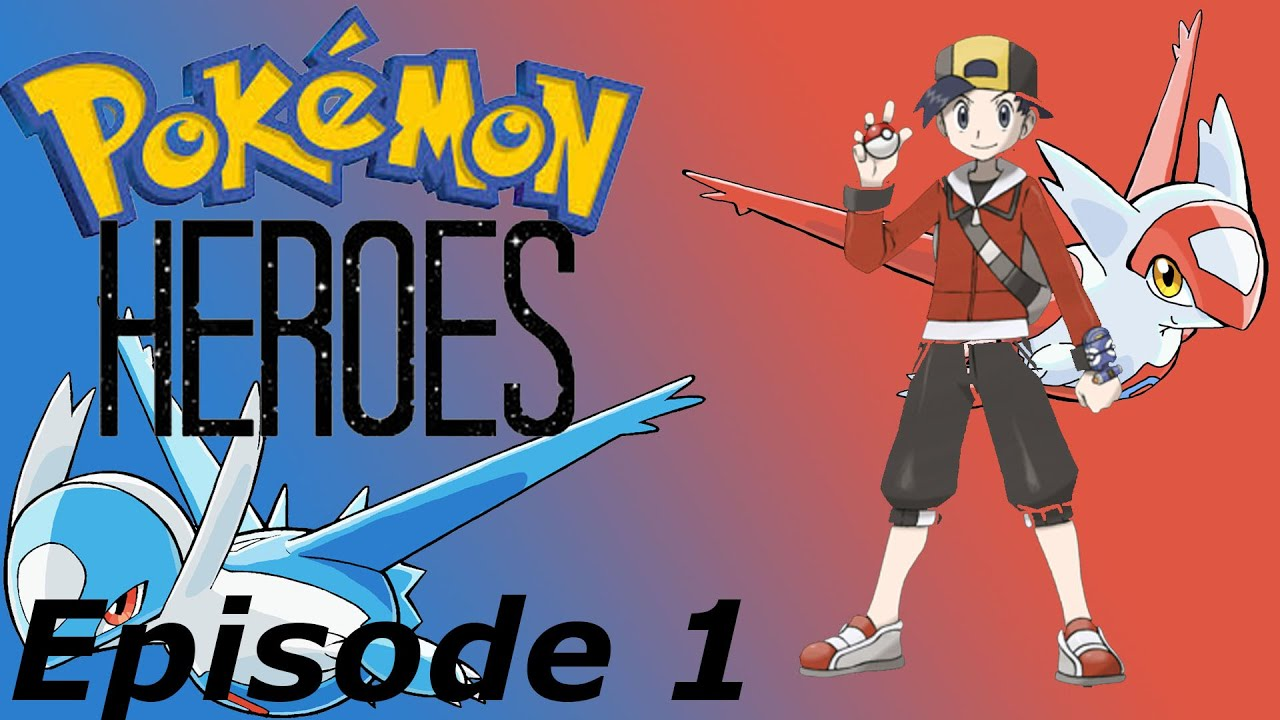 Let's Play Pokemon Heroes Episode 1: Gold