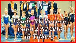 Finale NK Turnen Pupil 2 N2 2018 in Tilburg