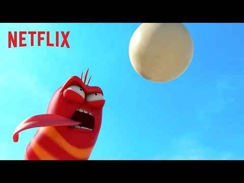 Volleyball Madness | Larva Island | Netflix