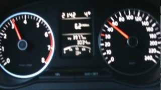 VW Polo 6r 1.4i 16v 85hp stock Acceleration 16 inch wheels