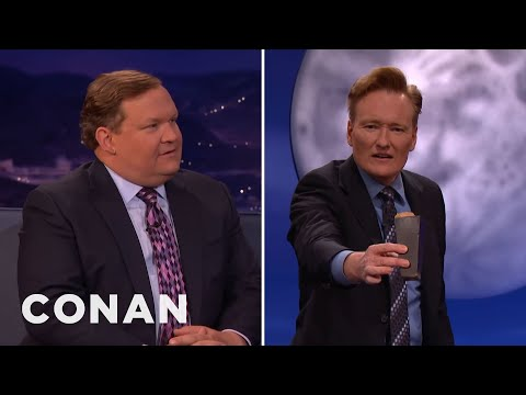 Andy Richter Breaks The CONAN Couch   CONAN on TBS