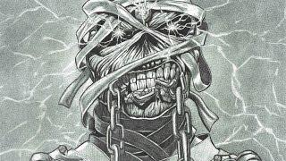 Iron Maiden Eddie A Dredfunn Mechanical Pencil Portrait