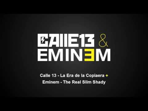 Calle 13 & Eminem - The Resident Slim Shady (La Era de la Copiaera + The Real Slim Shady)