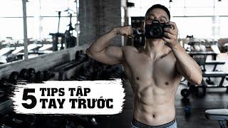 5 Tips tập tay trước hiệu quả hơn | Tips for training biceps | SHINPHAMM