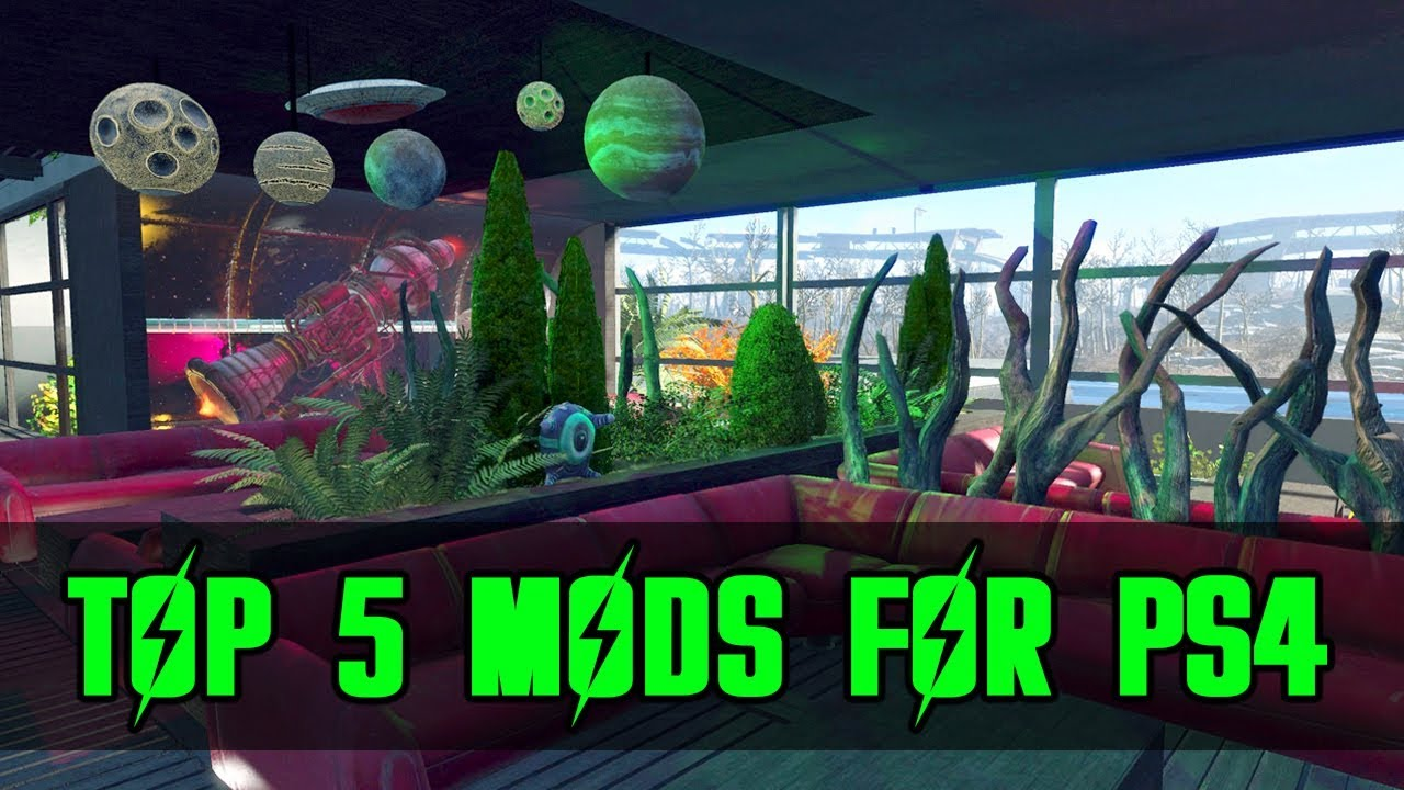 Top Five Mods of the month for Fallout 4 on PS4 #10