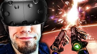 ROLLING ON THE FLOOR! - Space Pirate Trainer (VR)
