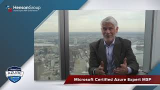 Henson Group Managed Services - Microsoft Certified Azure Expert MSP