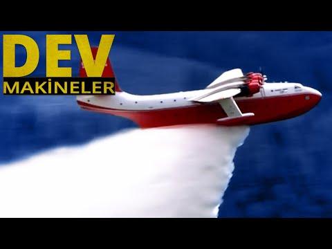 Dünyanın En Büyük Yangın Söndürme Uçağı - Kaliforniya'daki Korkunç Yangın | Dev Makineler 4.Bölüm