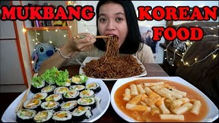 MUKBANG TTEOKBOKKI , KIMBAB , JAJANGMYEON (KOREAN FOOD) || MUKBANG INDONESIA
