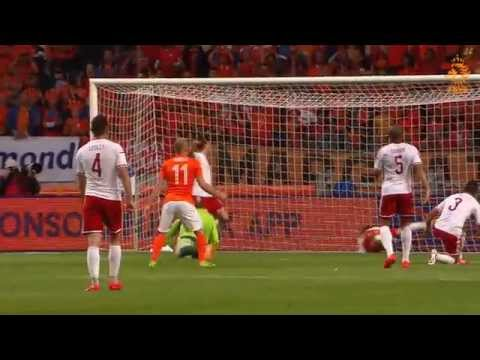 Highlights Netherlands - Wales 2-0 friendly 04-06-2014