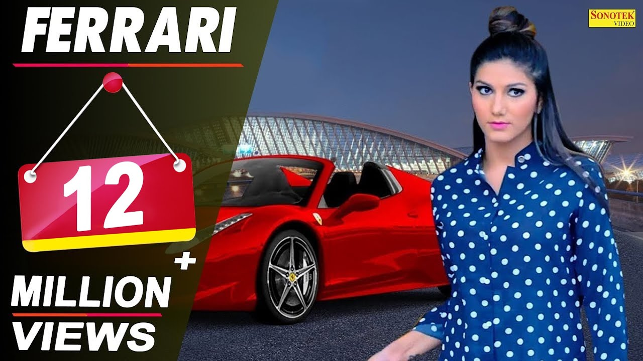 Sapna Chaudhary - Ferrari (Official) | Raj Mawar | New Haryanvi Song 2018 | Latest Haryanvi Songs