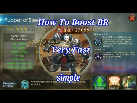 How to Boost BR Very fast!! Legacy of discord