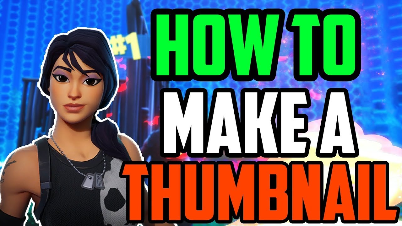 HOW TO MAKE A THUMBNAIL FAST + FREE THUMBNAIL TEMPLATE ...