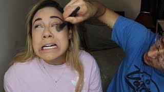my parents do my makeup