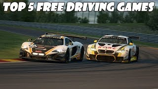 Top 5 Free Driving Games On Steam  New