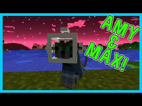 Amy & Max! Ep.16 MY SPACE KITTY! | Minecraft | Amy Lee33