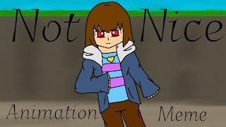 Nicht Schön // Animation Mem [Undertale AU - AshVerse]