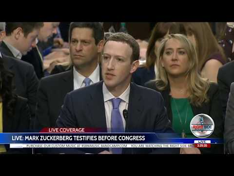 🔴WATCH: Facebook's Mark Zuckerberg Testifies to Congress