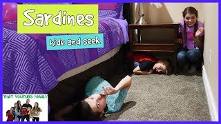 SARDiNES Hide and Seek In Mysterious House / That YouTub3 Family I Family Channel