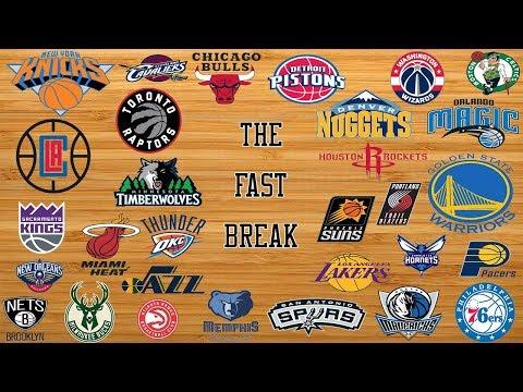 2018 NBA All Star Game/NBA Teams With Most Pressure/NBA MVP Odds - The Fast Break, 10/11/17