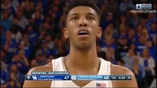 (NCAAM) #6 Kentucky Wildcats vs #7 UNC Tar Heels in 30 Minutes - 12/17/16