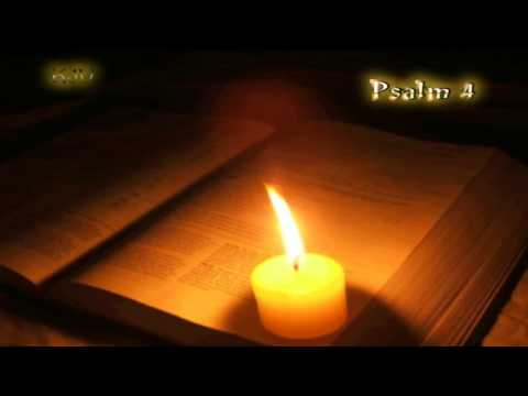 (19) Psalm 4 - Holy Bible (KJV)