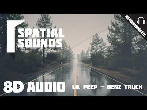 Lil Peep - Benz Truck (8D Audio 🎧)