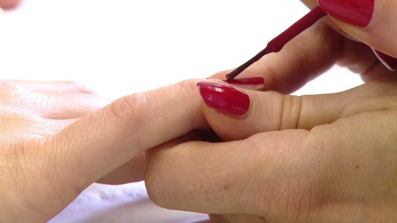 How To Give A Basic Salon Perfect Manicure Step By Guide Diy You