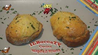 196 - Crostoni al formaggio...passo subito all'assaggio! (antipasto vegetariano dal sapore unico)