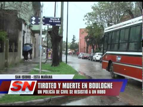 TIROTEO Y MUERTE EN BOULOGNE