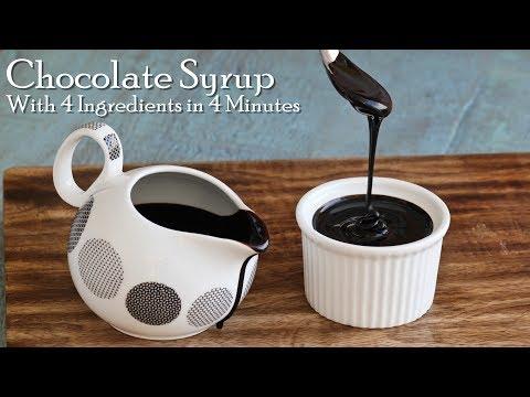 Homemade Dark Chocolate Syrup | Better than Hershey's | Chocolate Sauce Recipe ~ The Terrace Kitchen