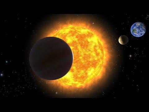 Сенсация! Эффект ЧЕРНОЛУНИЯ! Чёрная Луна на белом небе!