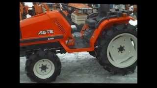 Kubota Aste A-195 traktorek japoński.Traktorek ogrodniczy. www.akant-ogrody.pl