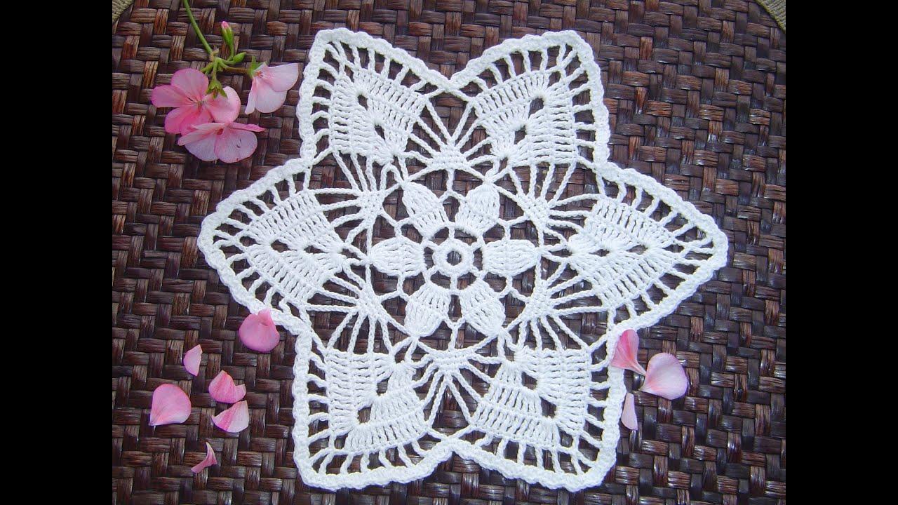 Como hacer tapete o carpeta a crochet paso a paso diy - Como hacer flores de ganchillo ...