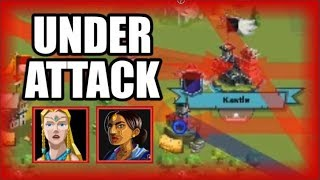 Under Attack! Real PVP (Defense Setups Tutorial)
