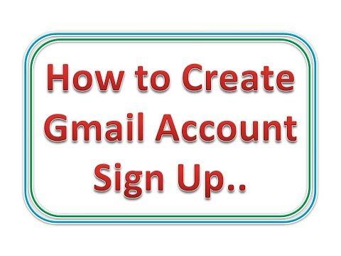 Create Gmail Account, Change Password