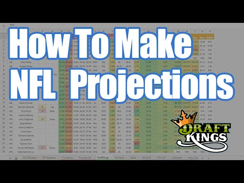 DraftKings Strategy - How To Make NFL Projections