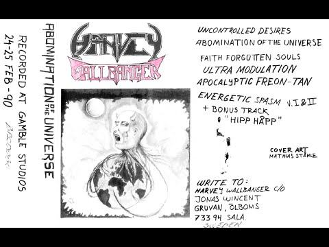 Harvey Wallbanger (Swe) - Uncontrolled Desires