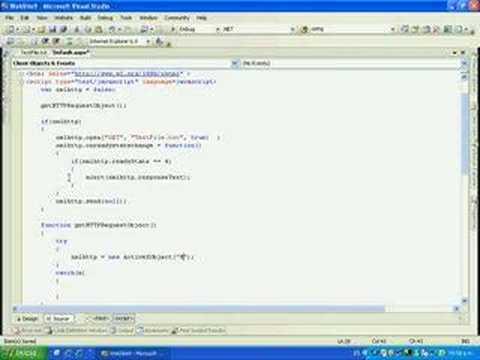 Utilizando XMLHTTPRequest en AJAX