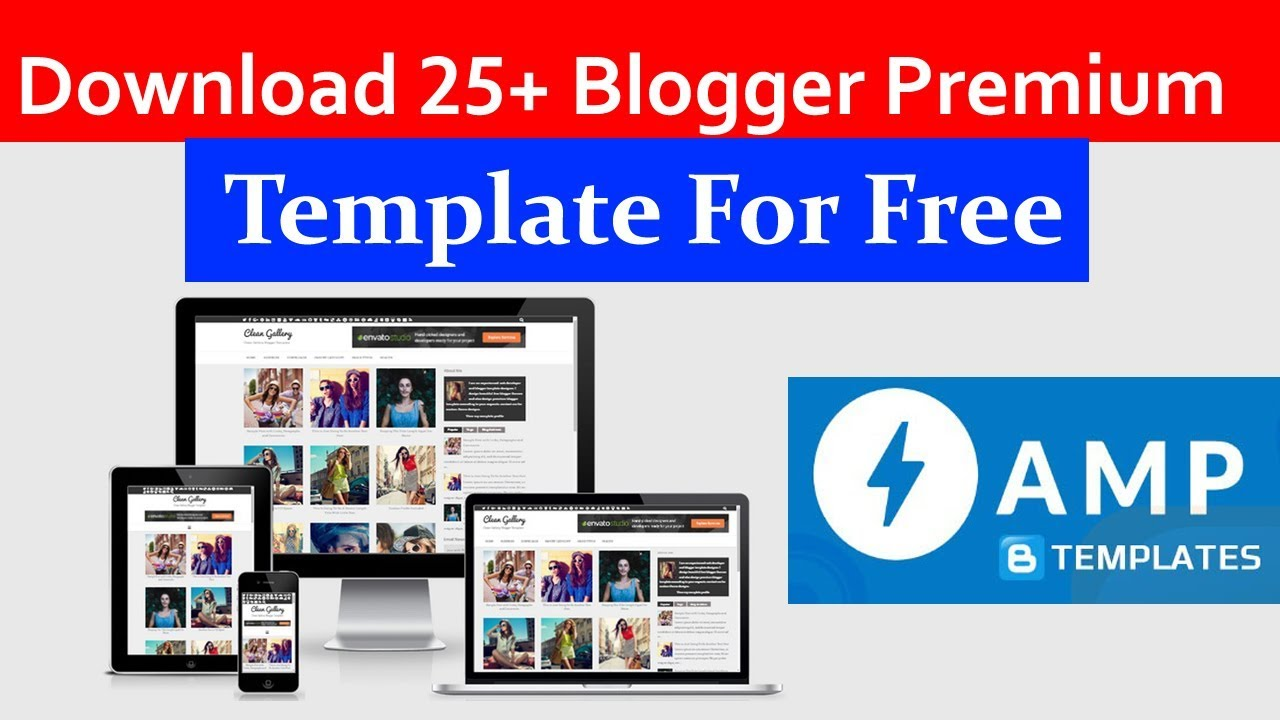 For blogger free template 300+ Best