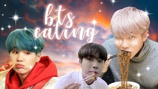 BTS Eating