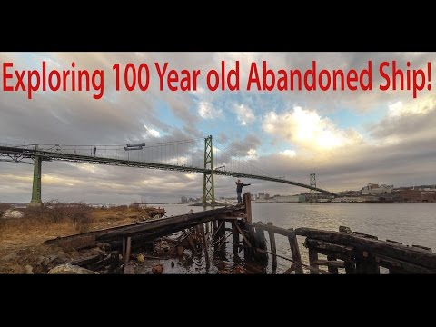 Halifax Day 2 - Exploring Abandoned SS Daisy